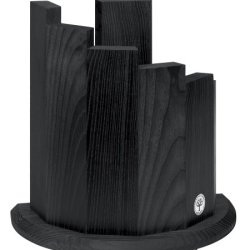 Boker Wood Magnetic Knife Block, Black