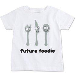Future Foodie Cotton Toddler T-Shirt (3T)