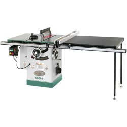 Grizzly G0691 Cabinet Table Saw With Long Rails And Riving Knife, 10-Inch
