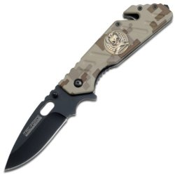 Tac Force Tf-742Dm Tactical Assisted Opening Folding Knife 4.5-Inch Closed