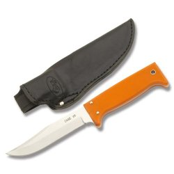 Case Knives 15558 765-5Ss Pattern Oudoor Utility Fixed Blade Knife With Orange G-10 Handles