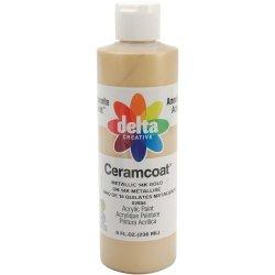 Plaid Delta 8-Ounce Ceramcoat Acrylic Gleam, Metallic Gold