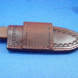 Custom Cross Draw Knife Sheath That Fits A Rat 3 Knife. Knife Not For Sale. Can Be Worn On Your Left Or Right Side. Box 20
