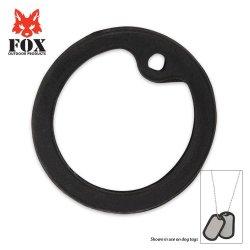 Fox G.I. Dog Tag Silencer Black