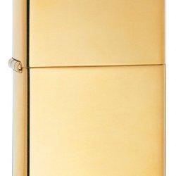 Zippo High Polish Brass Pocket Lighter