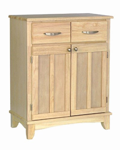Image of Server Sideboard with Metal Handles in Natural Finish (VF_HY-5001-0011)