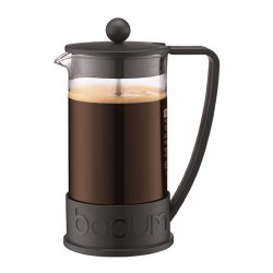 Bodum Brazil French Press 8 Cup Coffee Maker Cafetiere 1L / 34Oz Black