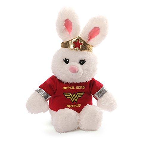 Gund Anya DC Comics Wonder Woman Sister T-shirt Plush Bunny Plush