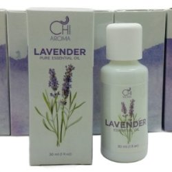 """Chi Aroma'S Lavender Essential Oil Made From 100% Pure, Undiluted, Premium Therapeutic Grade Organic Lavender Extract Farmed In Australia - Discover The Secrets Of The """"Swiss Army Knife"""" Of Aromatherapy With A Bonus Ebook """"100 Amazing Uses For Lavender Oi"""
