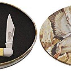 Remington Knives Sportman'S Series Limited Edition Pocket Knife In Mallard Tin 18010