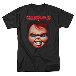 Childs Play 3 Horror Comedy Thriller Movie Chucky Adult T-Shirt Tee