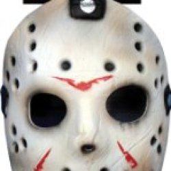 Friday The 13Th Jason Mask And Machette Halloween Set - Adult Size One Size