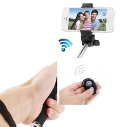 Wireless Bluetooth Extendable Selfie Monopod Phone Stick Pole With Remote Button Hot Extendable Handheld Portrait Selfie For Doogee Dagger Dg550