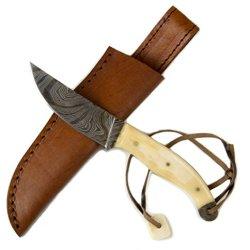 3V Gear Hugh Glass Damascus Patch Knife