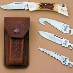Xxchanger W/Gut Hook Gift Set Amber