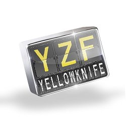 Floating Charms Yzf Airport Code For Yellowknife Fits Glass Lockets, Neonblond