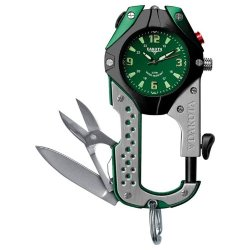 Knife Clip Watch - Green