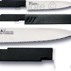 Cold Steel K7 Serrated Kitchen Knives (Set Of 3)