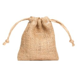 Burlap Draw String Pouch - 4.5 Inches X 4 Inches