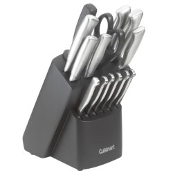 Cuisinart Kitchen Choice 17-Piece Stainless-Steel Forged Cutlery Set