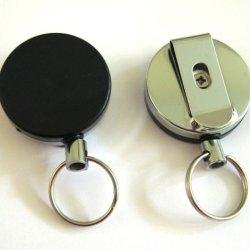 """6Pcs 2"""" Heavy Duty Retractable Reel Key-Id-Badge-Belt Clip"""