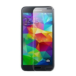 Simplelife Premium Tempered Glass [0.3Mmm /9H Hardness] Screen Protector Film Cover Guard For Galaxy S5