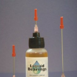 "Liquid Bearings With Extra-Long 3"" Needle, The Superior 100%-Synthetic Oil For Everything Around The Home And Office, Never Gums Up, Frees Rusty And Sticky Mechanisms, Stops Squeaks Immediately!!"