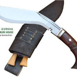 "Genuine Full Tang Hand Forged Blade Khukri Knife - 10"" Blade Gurkha Ww I Historic Bushcraft Kukri - Handmade By Egkh In Nepal Zombie Apocalypse Chopper"