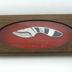 Custom Buck 196Pesle Painted Pony Michael Prater 196 Mini Alpha Hunter Knife