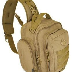 Hazard 4 Evac Holmes Lumbar/Chest Sling With Side Shells, Coyote