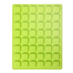 Silicone Alphabet 48 Letters Cake Cookie Bake Mold