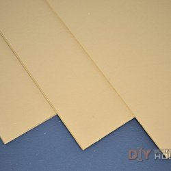 "Kydex T, P1 Haircell Finish, 8"" X 12"" X .080"", Coyote Brown, 2 Sheets"