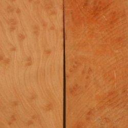 """Redwood Burl Eye (2 Pc) Straight Razor Scale 3/8"""" X 2"""" X 6"""""""