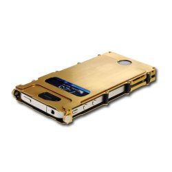 Columbia River Knife And Tool Inox4G Inoxcase Stainless Steel Iphone 4 And 4S Gold