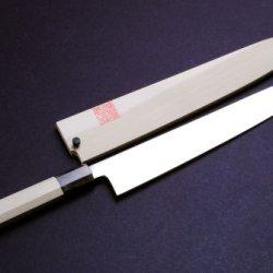 """Yoshihiro Ice Hardened High Carbon Stainless Steel Wa Sujihiki (Slicer) Japanese Sushi Sashimi Chef Knife 10.5"""" (270Mm)"""