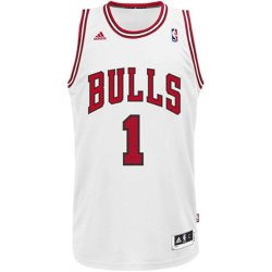 Nba Chicago Bulls Derrick Rose Swingman Jersey, White, X-Large