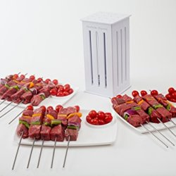 Brochette Express With 16 Stainless Steel Skewers