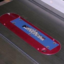Betterley Tru-Cut Blade Insert System. Fits Jet Left Tilt 10 Inch Cabinet Saw (Xacta)
