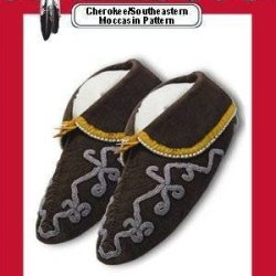 *Cherokee/Southeastern Moccasins Pattern