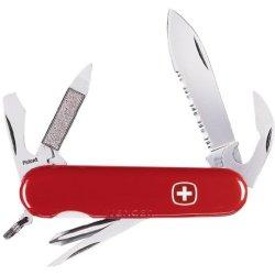 Wenger 16479 Serrated Highlander Swiss Army Knife 3.25-Inch