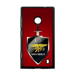 Jdsitem U.S. Navy Seals Simple Red Pattern Case Cover Sleeve Protector For Phone Nokia Lumia 520