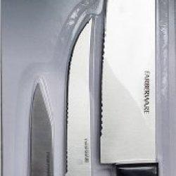 Farberware 3 Piece Santouku Knife Set