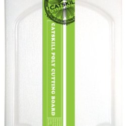 Catskill Craftsmen 9-3/4-Inch Small Utility Poly Cutting Board With Groove