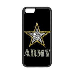 "Jdsitem Creative Letter Army Star Design Case Cover Sleeve Protector For Phone Iphone 6 4.7"" (Laser Technology)"