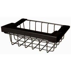Rubbermaid 1H32 Under-Shelf Slide-Out Storage Basket-Black
