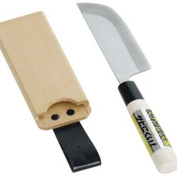 Stainless Steel Kitchen Knife Wood Harvest Saya-Zuke Plastic Packaging Set 09 315 (Japan Import)