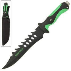 Fiendish Zombie Killer Bowie Knife