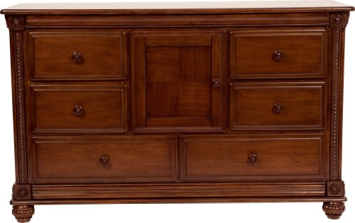 Image of Simmons Kids Furniture Mendocino Combo Dresser, Deep River Cherry (258170-28)