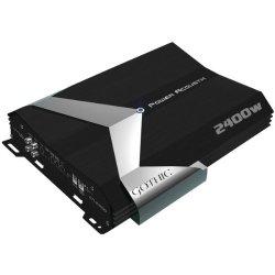 Power Acoustik Gt1-2400D Gothic Series Class D Amplifier (2,400W Max; 900W @ 4Ohm ; 1,150W @ 2Ohm -