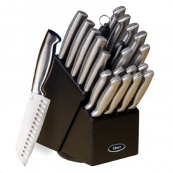 - Oster Baldwyn 22 Pc Cutlery Block Set